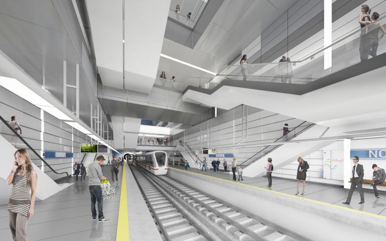 SENER Infraestructuras y transporte Metro de Guadalajara
