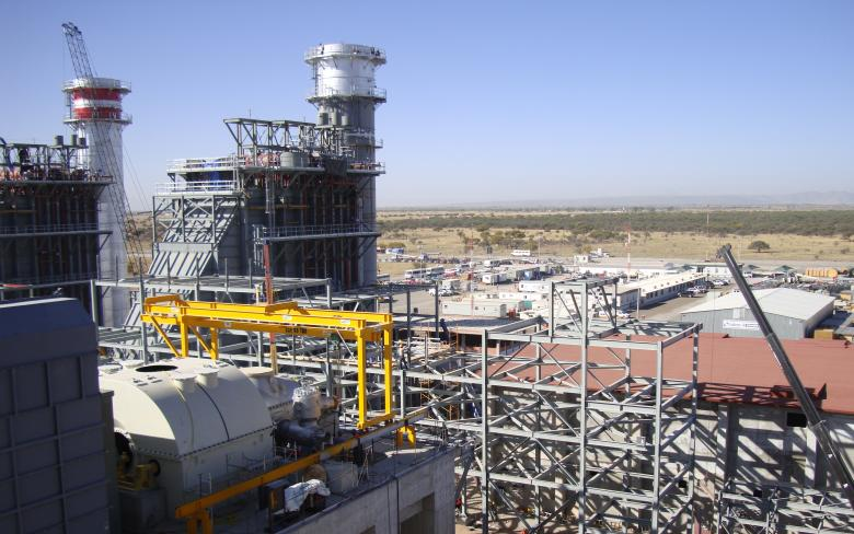 Norte combined cycle plant