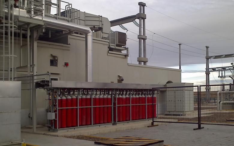 Cerro Dragón combined cycle power plant