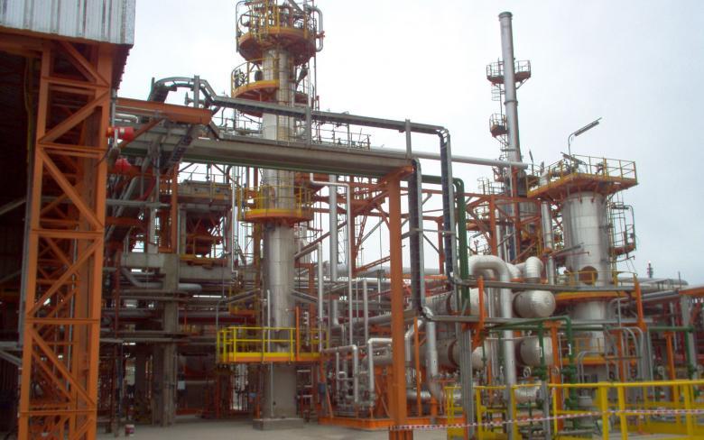 Unidad de hidrotratamiento de naftas
