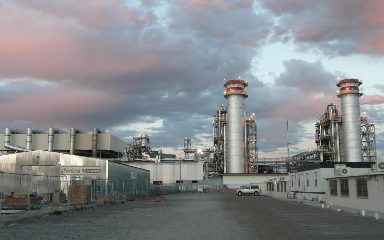 Pilar combined cycle plant