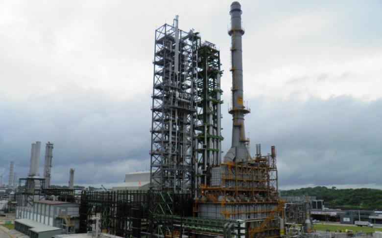 CCP plant, La Cangrejera petrochemical complex