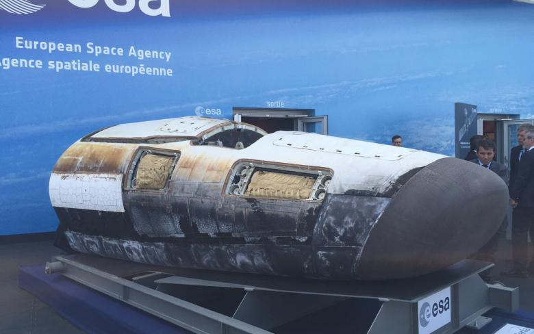 IXV: Intermediate eXperimental Vehicle Re-entry Demonstrator