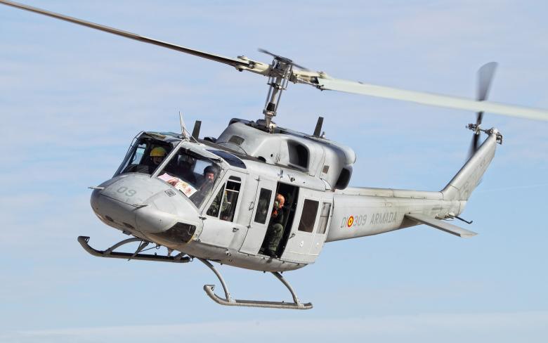 Programa de modernización de los helicopteros AB-212 de la Armada española