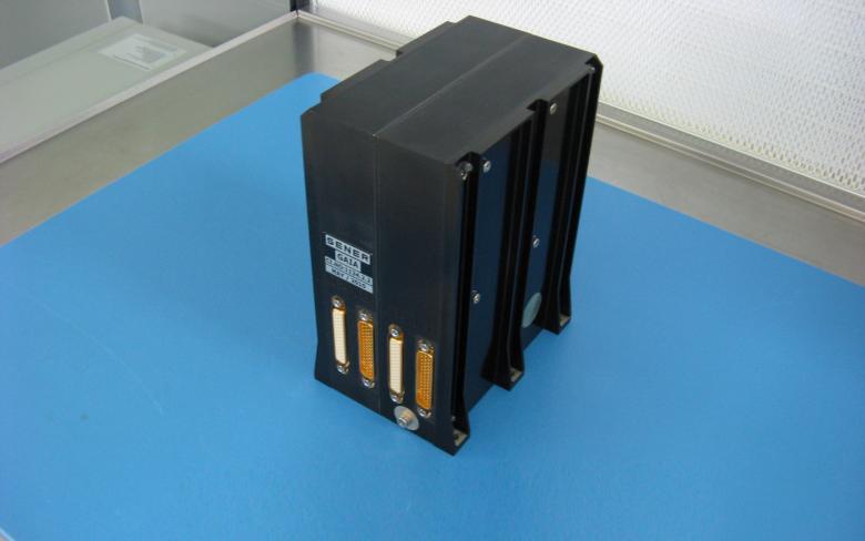 Unidad electrónica del mecanismo de apuntamiento M2MM del satélite Gaia