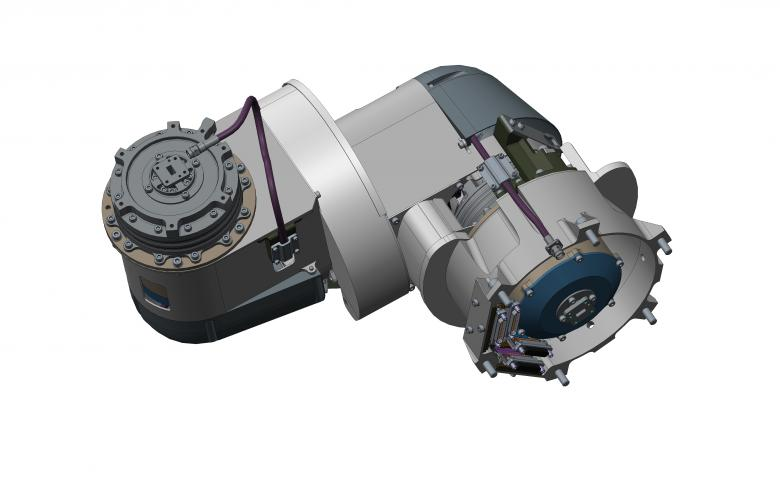 EUCLID. Mecanismo de despliegue y apunte de antena de alta ganancia (HGA ADPM)