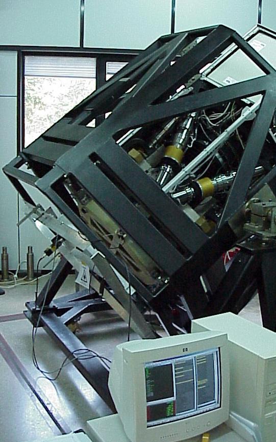 GTC Sistema de posicionamiento del espejo secundario