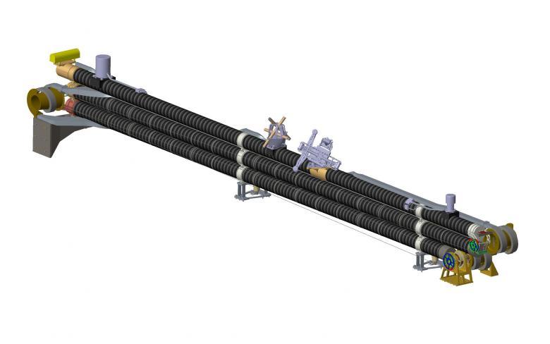 JUICE. Mástil desplegable de magnetómetro (MAGBOOM)