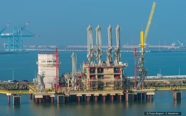 Planta regasificadora GNL Zeebrugge