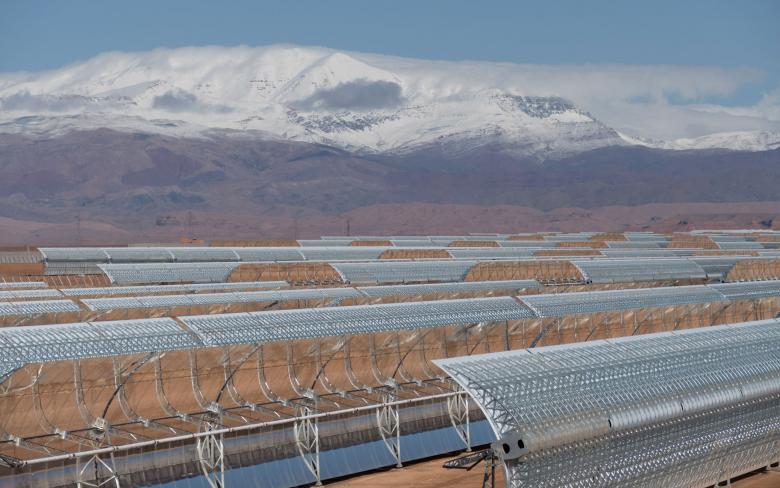 Planta termosolar CCP Noor Ouarzate II