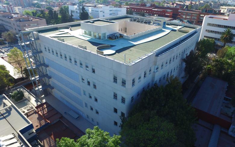 Hospital General de México. Edificios 310 y 501