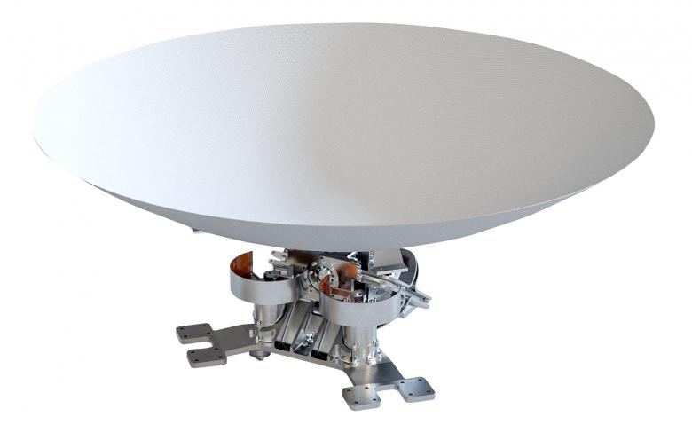 Low profile Antenna Pointing Mechanism (APM)