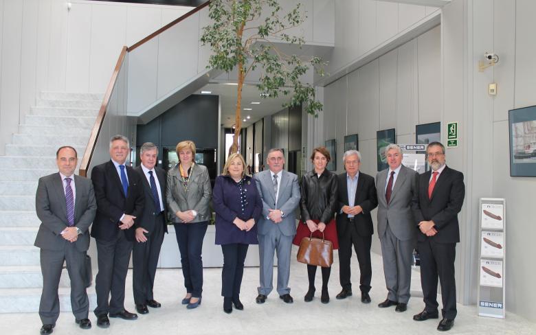 La Comisión de Medio Ambiente y Cambio Climático del Senado visita SENER