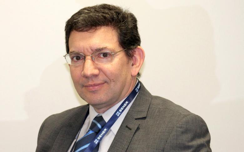 El director de Espacio de SENER, Diego Rodriguez, participa en la jornada 'Un hito para la industria aeroespacial española' de los Martes de la RAI
