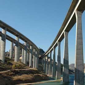Linea de Alta Velocidad Madrid-Levante Viaducto del Itsmo