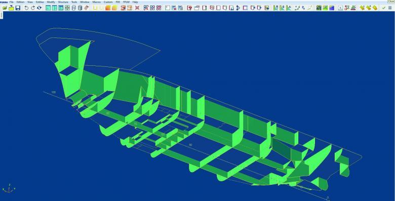SENER Naval - Subsitemas FORAN - Diseño inicial