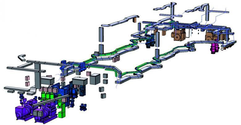 SENER NAVAL - Subistemas FORAN Diseño eléctrico Bandeja de cables