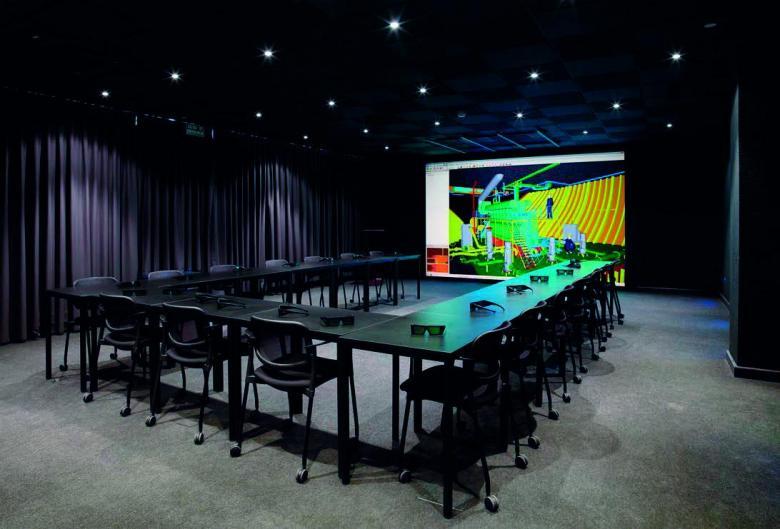 SENER NAVAL - Subistemas FORAN Realidad virtual Instalaciones