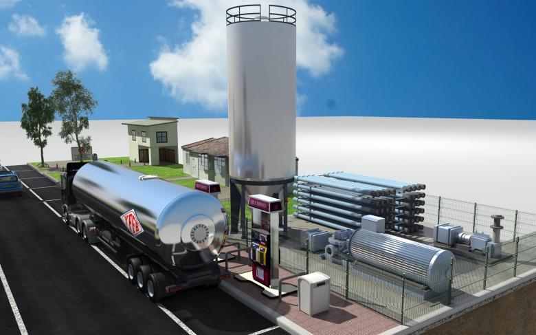 Servicios del gasoducto virtual de Bolivia