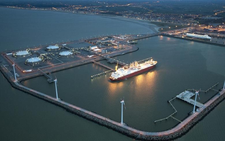 Terminal de Gas Natural Licuado en Zeebrugge (Bélgica)