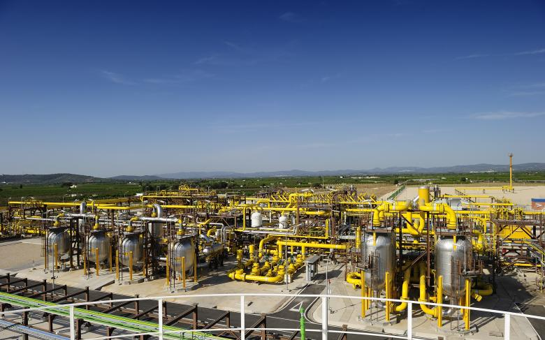 Planta de almacenamiento de Gas Natural Castor en Vinaroz (Castor)