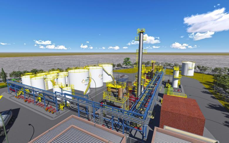 Used oil re-refining plants | SENER - Renewables, Power, Oil