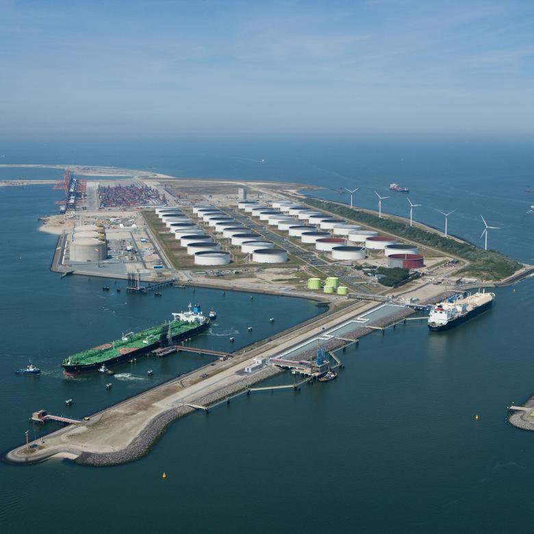 Terminal de Gas Natural Licuado en Maasvlakte en Róterdam, Holanda