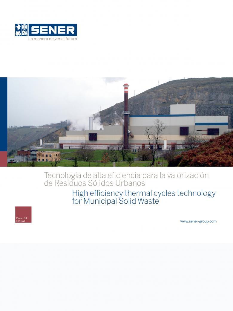 Tecnología de Alta Eficiencia para la Valorización de Residuos Sólidos Urbanos