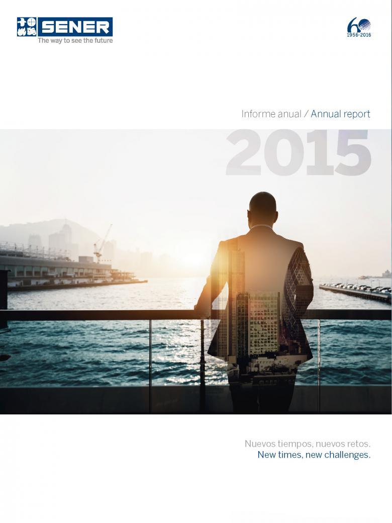 Informe anual de SENER 2015