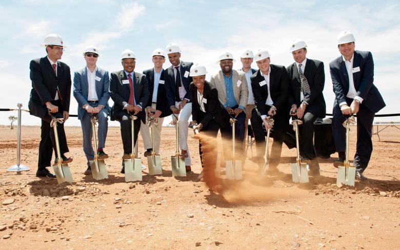 Empieza la construcción de la planta solar Kathu de 100 MW en Cabo del Norte, Sudáfrica