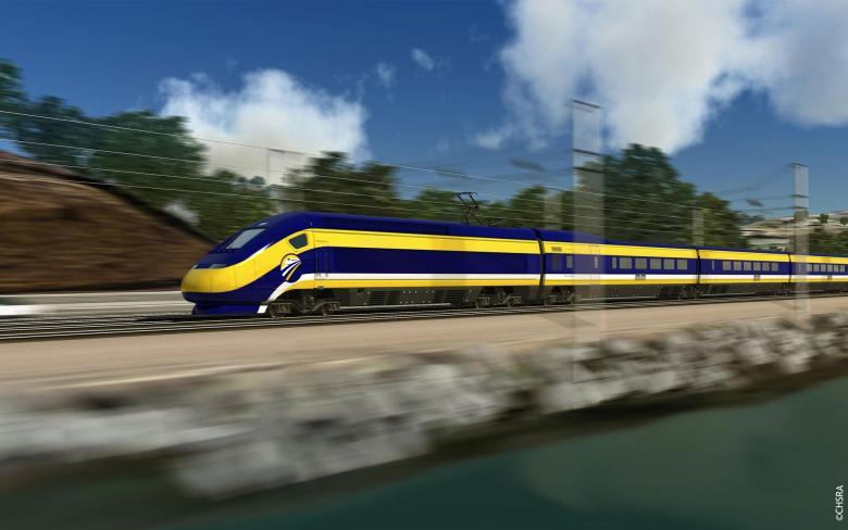 Línea de alta velocidad de California. Estudio medioambiental e ingeniería preliminar del tramo Palmdale a Burbank