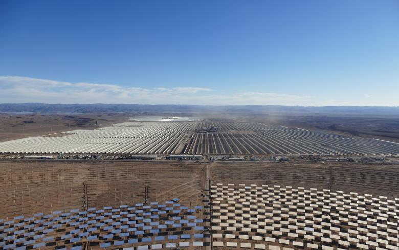 Complexe solaire Noor Ouarzazate