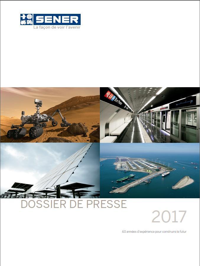 Dossier de prensa SENER en Marruecos