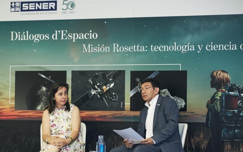 Conferencia 'Misión Rosetta: tecnología y ciencia de frontera'