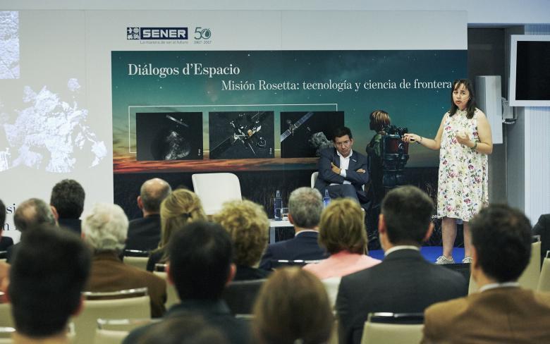 Conferencia Misión Rosetta: tecnología y ciencia de frontera