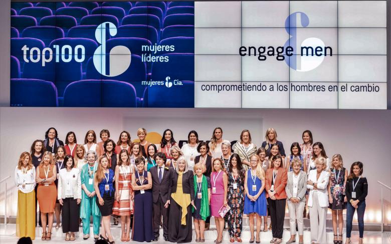 Itziar Urrutia, directora general de internacional de SENER, distinguida con el reconocimiento Top 100 Mujeres Líderes de España