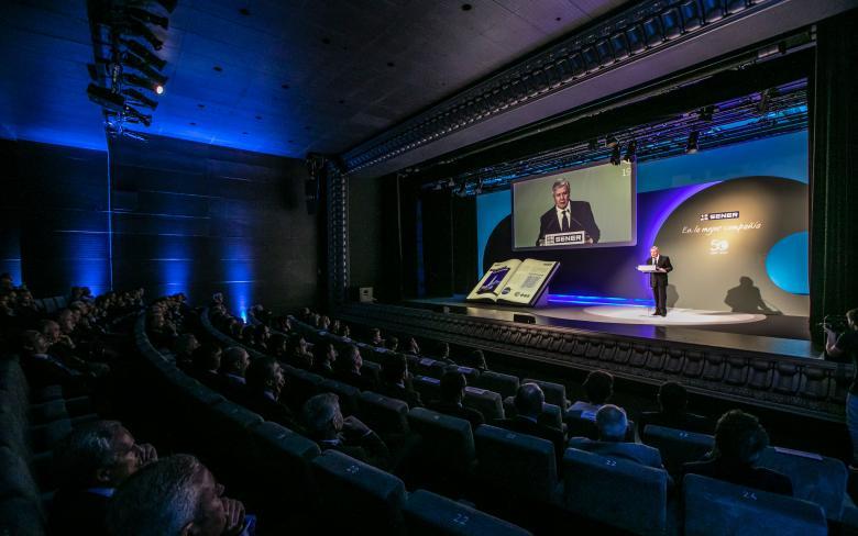 Jorge Sendagorta abrió la celebración del 50 aniversario de SENER en Espacio