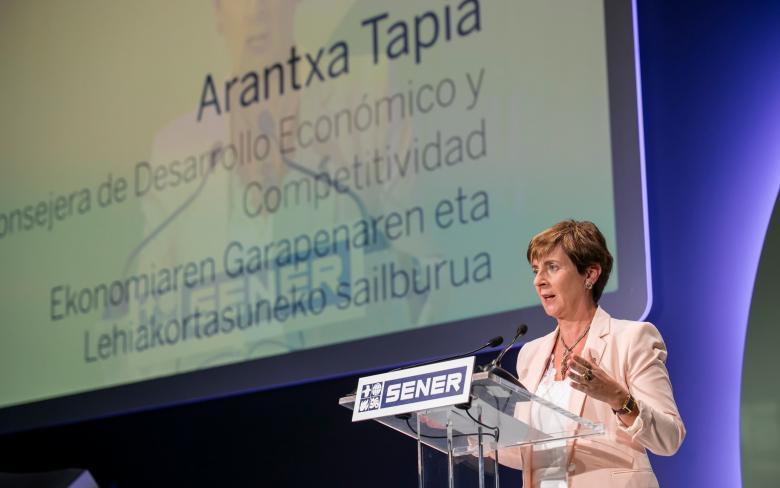 Discurso de Arantxa Tapia en la celebración del 50 aniversario de SENER en Espacio