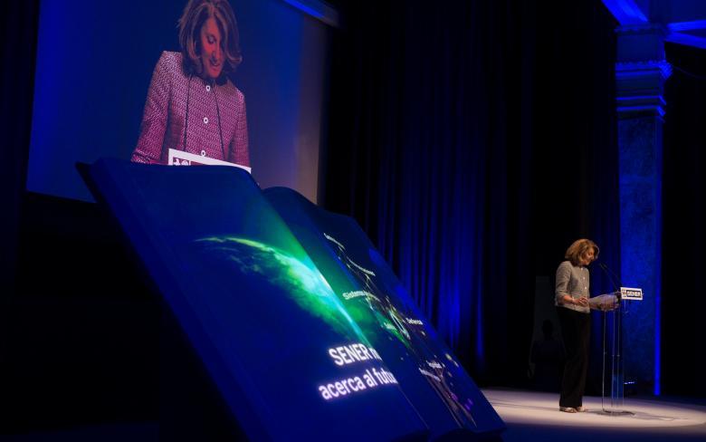 Begoña Cristeto clausura el evento conmemorativo del 50 aniversario de SENER en Espacio