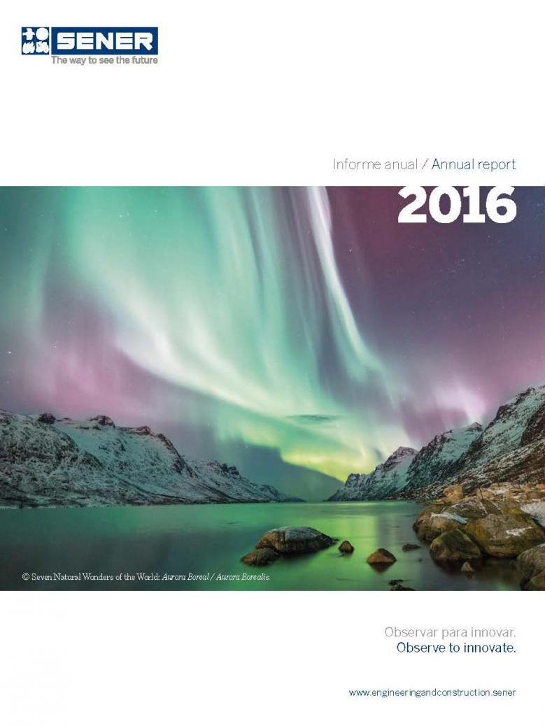 Informe anual del año 2016