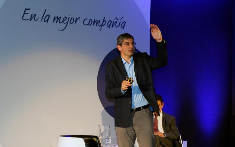 Ignasi Ribas en la conferencia