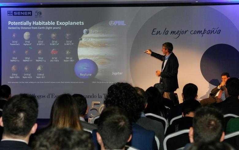 Conferencia 'Buscando la Tierra 2.0'
