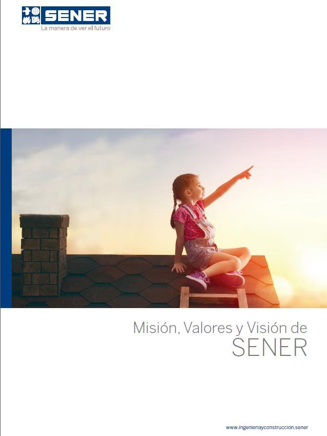 Misión, visión y valores de SENER