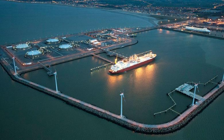 Zeebrugge GNL plant