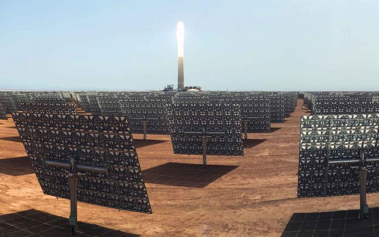 planta solar termoelectrica nooro iii
