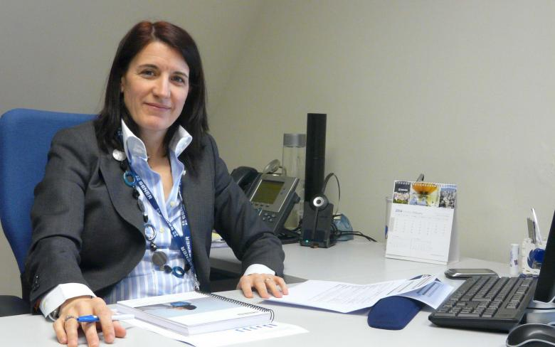 Elvira García  directora de Ingeniería de Energía