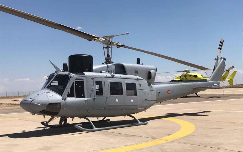 SENER y Babcock entregan a la Armada Española la sexta unidad modernizada del helicóptero AB-212