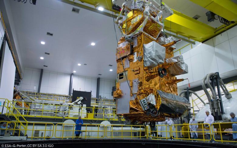 Satélite meteorológico europeo de órbita polar MetOp-C