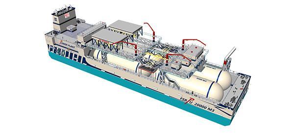 Solutions flottantes de GNL à petite et moyenne échelle pour le Maroc