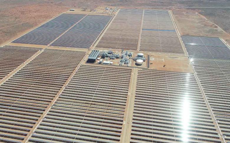 Planta de energía solar termoeléctrica de 100MWe Ilanga-1